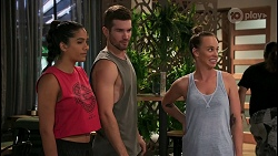 Yashvi Rebecchi, Ned Willis, Bea Nilsson in Neighbours Episode 8614