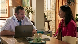 Toadie Rebecchi, Angela Lane in Neighbours Episode 8614