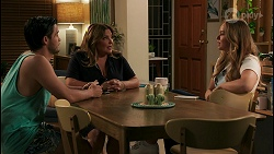 David Tanaka, Terese Willis, Harlow Robinson in Neighbours Episode 8615