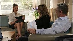 Chloe Brennan, Terese Willis, Paul Robinson in Neighbours Episode 8615