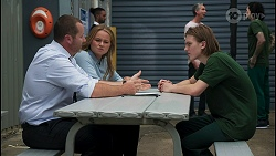 Toadie Rebecchi, Harlow Robinson, Brent Colefax in Neighbours Episode 8615