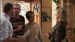 Toadie Rebecchi, Karl Kennedy, Susan Kennedy, Melanie Pearson in Neighbours Episode 8615