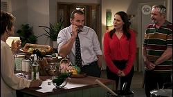 Susan Kennedy, Toadie Rebecchi, Angela Lane, Karl Kennedy in Neighbours Episode 8616