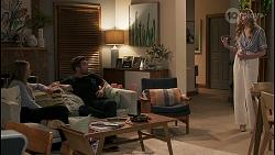 Harlow Robinson, Ned Willis, Mackenzie Hargreaves in Neighbours Episode 8616