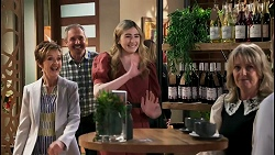 Susan Kennedy, Karl Kennedy, Mackenzie Hargreaves, Melanie Pearson, Toadie Rebecchi in Neighbours Episode 8616
