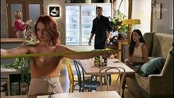 Nicolette Stone, Ned Willis, Yashvi Rebecchi in Neighbours Episode 8618
