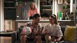 Jane Harris, Aaron Brennan, Chloe Brennan in Neighbours Episode 8618