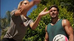 Chloe Brennan, Aaron Brennan in Neighbours Episode 8618