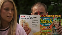 Roxy Willis, Kyle Canning in Neighbours Episode 8619