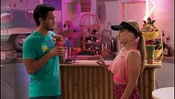 David Tanaka, Roxy Willis in Neighbours Episode 8619