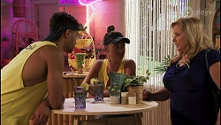 Levi Canning, Bea Nilsson, Sheila Canning in Neighbours Episode 8619
