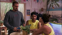 Kyle Canning, Levi Canning, Bea Nilsson in Neighbours Episode 8619