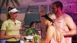 Chloe Brennan, Roxy Willis, Kyle Canning in Neighbours Episode 8620