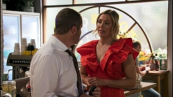 Toadie Rebecchi, Amy Greenwood in Neighbours Episode 8621