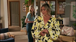 Mackenzie Hargreaves, Amy Greenwood in Neighbours Episode 8622