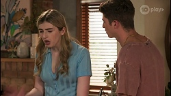 Mackenzie Hargreaves, Hendrix Greyson in Neighbours Episode 8623