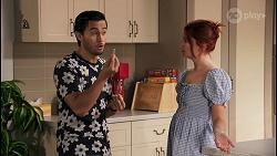 David Tanaka, Nicolette Stone in Neighbours Episode 8623