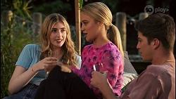 Mackenzie Hargreaves, Roxy Willis, Hendrix Greyson in Neighbours Episode 8624