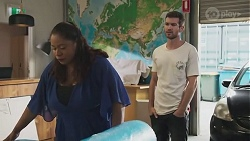 Sheila Canning 2, Ned Willis in Neighbours Episode 8625