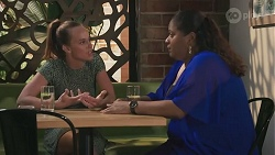 Bea Nilsson, Sheila Canning 2 in Neighbours Episode 8625