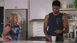 Sheila Canning, Levi Canning in Neighbours Episode 8626