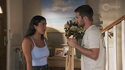 Yashvi Rebecchi, Ned Willis in Neighbours Episode 8626