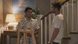 David Tanaka, Ned Willis in Neighbours Episode 8626