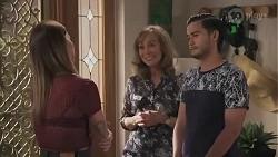 Bea Nilsson, Jane Harris, David Tanaka in Neighbours Episode 8627