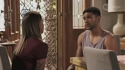 Bea Nilsson, Levi Canning in Neighbours Episode 8627