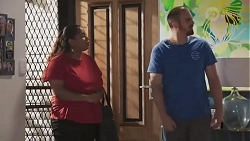 Sheila Canning 2, Kyle Canning in Neighbours Episode 8627