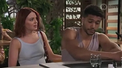 Nicolette Stone, Levi Canning in Neighbours Episode 8627