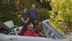 Susan Kennedy, Sheila Canning 2, Karl Kennedy, Bea Nilsson in Neighbours Episode 8627