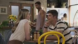 Mackenzie Hargreaves, Levi Canning, Hendrix Greyson in Neighbours Episode 8628