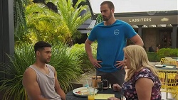 Levi Canning, Kyle Canning, Sheila Canning in Neighbours Episode 8628
