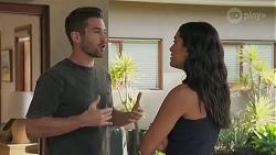 Ned Willis, Yashvi Rebecchi in Neighbours Episode 8628