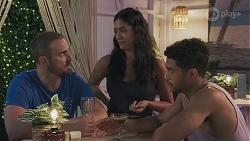 Kyle Canning, Yashvi Rebecchi, Levi Canning in Neighbours Episode 8628