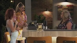 Nicolette Stone, Chloe Brennan, Sheila Canning in Neighbours Episode 8628