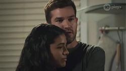 Yashvi Rebecchi, Ned Willis in Neighbours Episode 8628