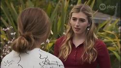 Harlow Robinson, Mackenzie Hargreaves in Neighbours Episode 8629