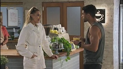 Chloe Brennan, Levi Canning in Neighbours Episode 8629