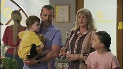 Hugo Somers, Toadie Rebecchi, Melanie Pearson, Nell Rebecchi in Neighbours Episode 8629
