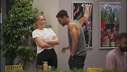 Harlow Robinson, Levi Canning in Neighbours Episode 8629