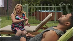 Sheila Canning, Levi Canning in Neighbours Episode 8629