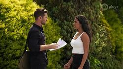 Ned Willis, Yashvi Rebecchi in Neighbours Episode 8632