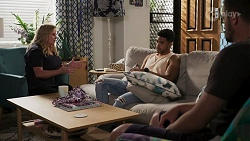 Sheila Canning, Levi Canning, Kyle Canning in Neighbours Episode 8632