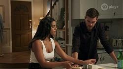 Yashvi Rebecchi, Ned Willis in Neighbours Episode 8632