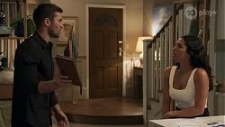 Ned Willis, Yashvi Rebecchi in Neighbours Episode 8633