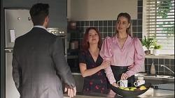 Pierce Greyson, Nicolette Stone, Chloe Brennan in Neighbours Episode 8634