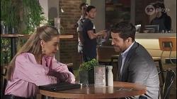 Chloe Brennan, Aaron Brennan, David Tanaka, Pierce Greyson in Neighbours Episode 8634