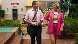 Toadie Rebecchi, Amy Greenwood in Neighbours Episode 8635
